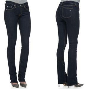 🎉Rag & Bone Stiletto Boot Dover Straight Leg Jean